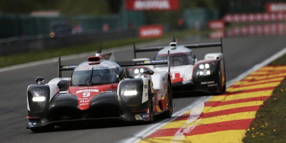 Porsche v/s Toyota en las 24 Horas de Le Mans
