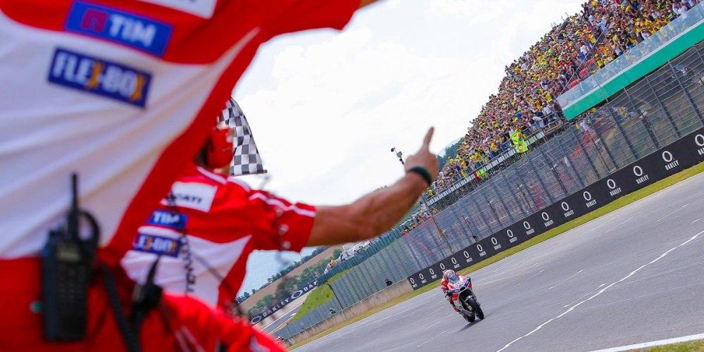 Italia para los italianos: Ducati y Dovizioso ganan en Mugello