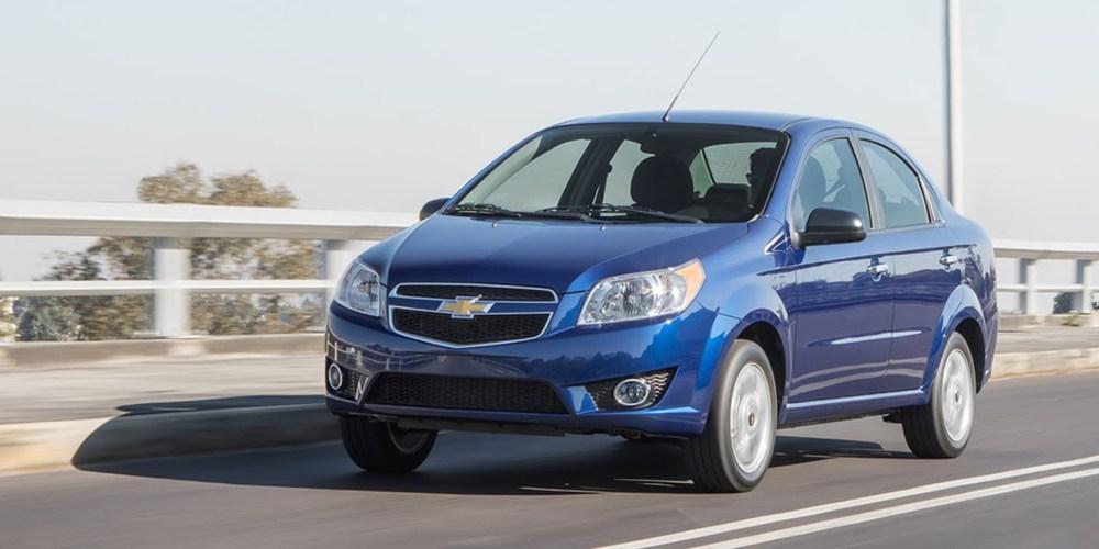 Chevrolet Aveo 2018, ahora con mayor seguridad en todas las versiones
