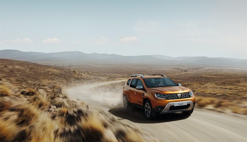 Dacia (Renault) Duster se actualiza