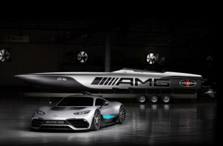 Mercedes-AMG: Cigarette Racing 515 Project ONE, 1,550 hp de placer