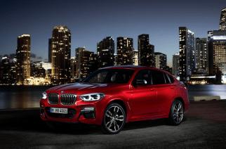 BMW X4 muestra su nuevo rostro