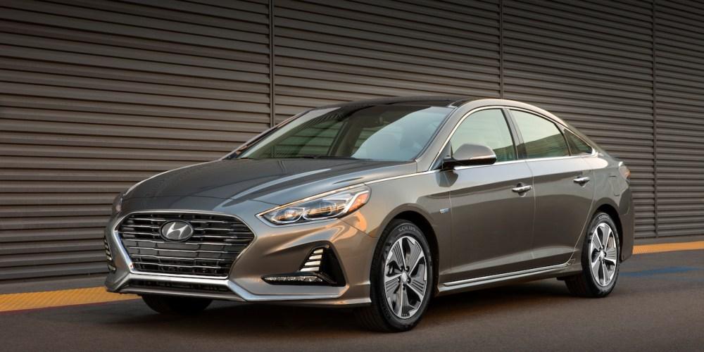 Autoshow de Chicago 2018, Hyundai Sonata Hybrid y Plug-In Hybrid