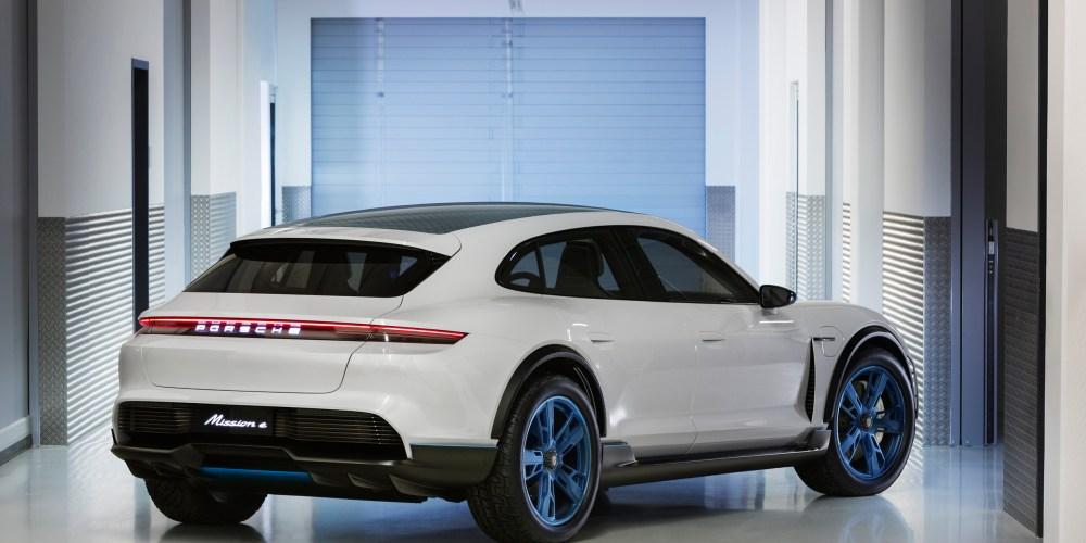 Autoshow de Ginebra 2018, Porsche Mission E Cross Turismo