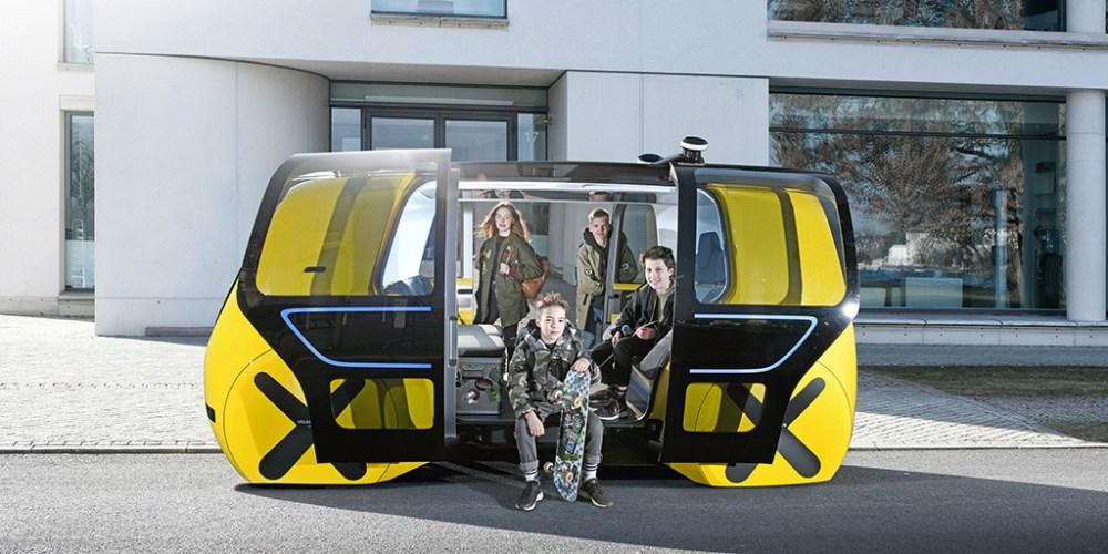 Autoshow de Ginebra 2018, Volkswagen SEDRIC, un bus inteligente y listo para circular