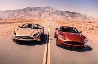 Ya está en México el Aston Martin DB11 Volante