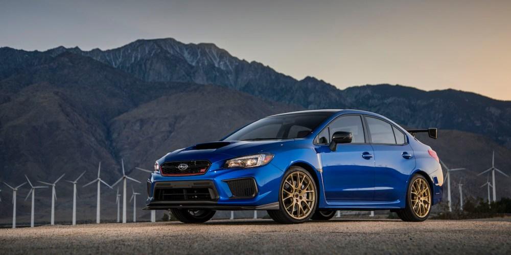 Subaru festeja 30 años de su marca deportiva STI