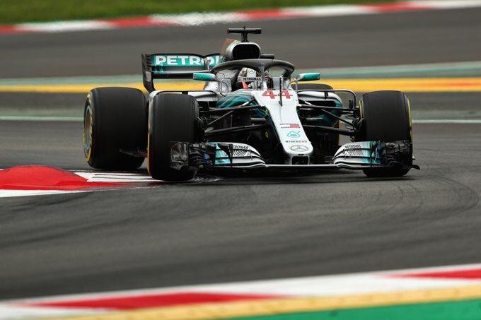 Hamilton se reencuentra con la Pole en España
