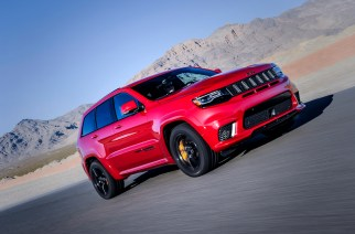 Jeep Grand Cherokee Trackhawk 2018 ya disponible en México
