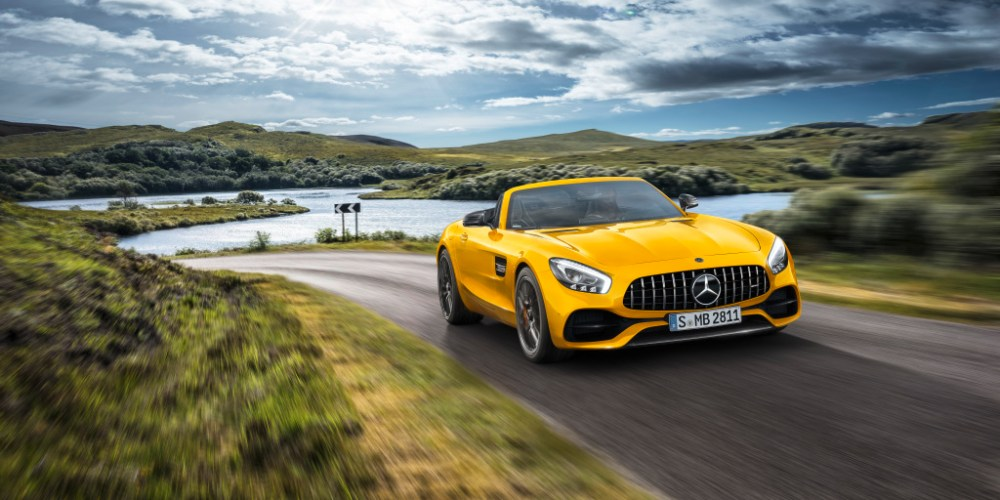 Mercedes-AMG GT S Roadster 2019, listo para disfrutar el verano a más de 300 km/h