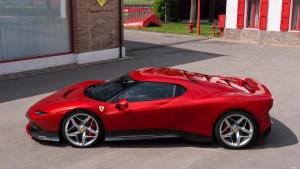 Ferrari SP38, la nueva creación inmaculada