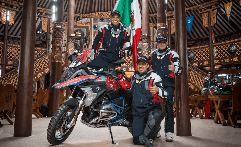Gran papel de los mexicanos en el BMW Motorrad International GS Trophy 2018