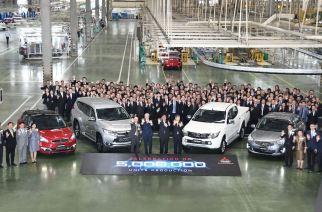 Mitsubishi Motors Tailandia produce su unidad cinco millones