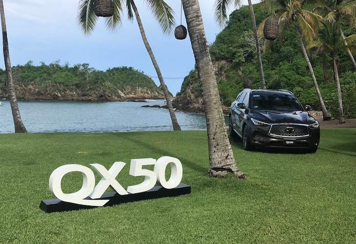 INFINITI QX50: la joya de la corona