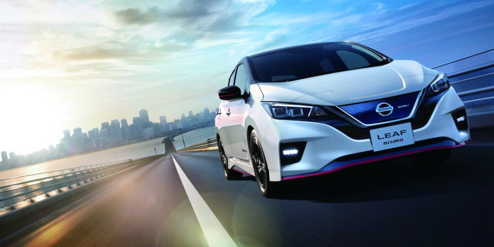 Nissan LEAF NISMO hace su debut mundial