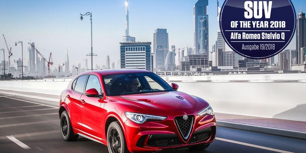 Alfa Romeo Stelvio se lleva el reconocimiento de SUV del año 2018