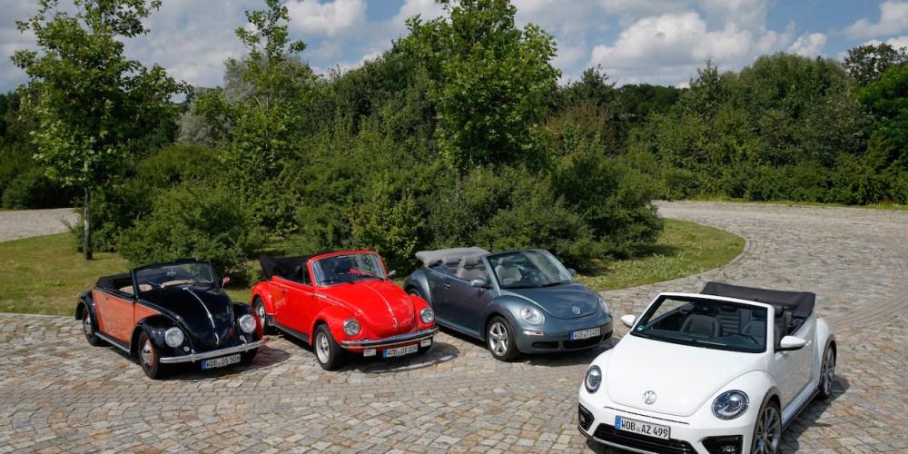 Así se celebra el vigésimo aniversario del Volkswagen Beetle