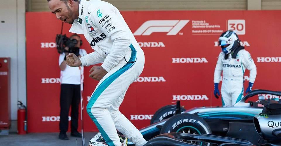 Lewis Hamilton, un paso más cerca del pentacampeonato