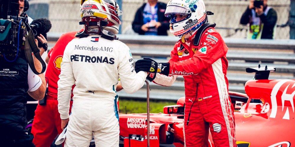 Hamilton consigue la pole y puede ser Campeón en Estados Unidos