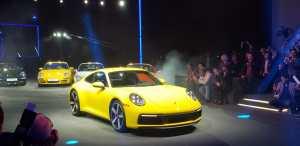 Nuevo Porsche 911: octava generación.