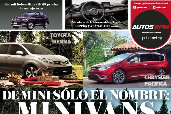 De mini sólo el nombre: Minivans