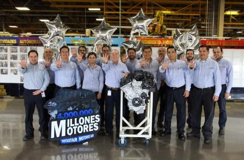 Orgullo mexicano: 4 millones de motores de FCA en Planta Motores Saltillo Sur