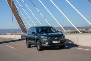 SEAT Tarraco 2019, prueba internacional de conducción