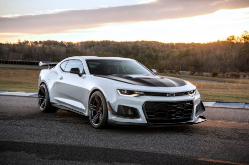 The 2019 Camaro ZL1 1LE now offers a 10-speed automatic transmis