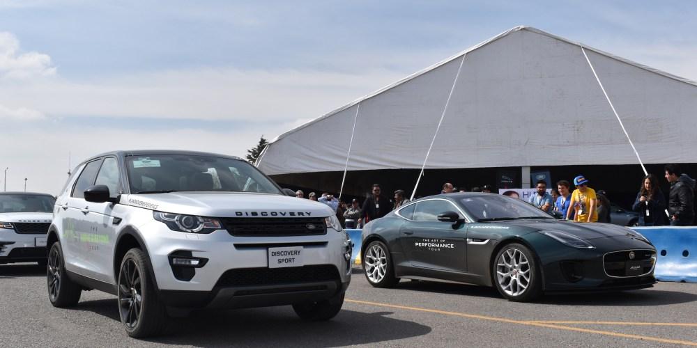 Vivimos el poder felino y exclusivo de Jaguar Land Rover en pista