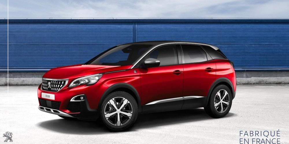 Peugeot 3008, el SUV que más se ha producido en Francia