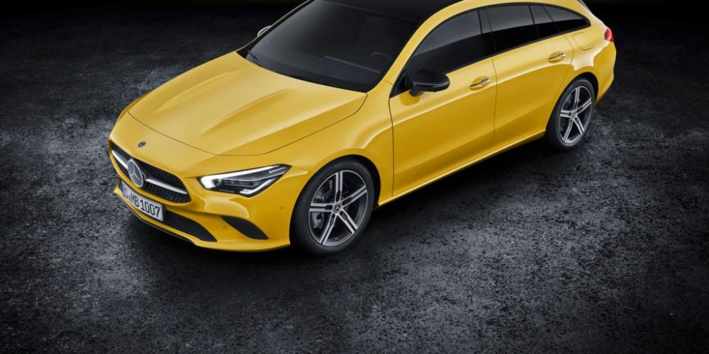 Mercedes-Benz CLA Shooting Brake, X118, 2019, Exterieur, sonnengelb Mercedes-Benz CLA Shooting Brake, X118, 2019, exterior, sun yellow