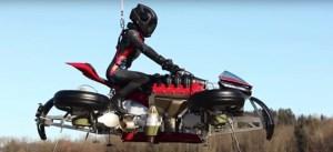Lazareth LMV 496, la motocicleta voladora