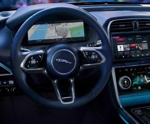 jaguar xe-interior