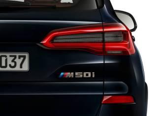 BMW X5 M50i.