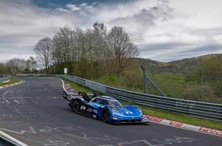 Los eléctricos de VW a la pista: ID.R en el circuito Nordschleife