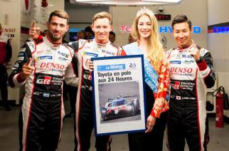 Toyota con la pole en Le Mans