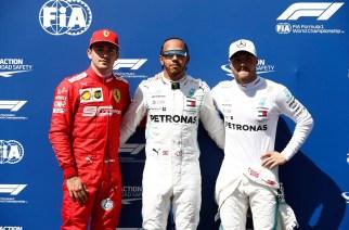 Hamilton se impone con su pole 86 en Francia