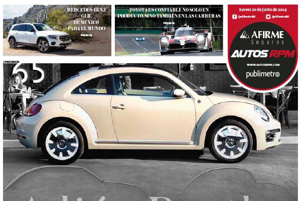 Adiós Beetle, hola leyenda