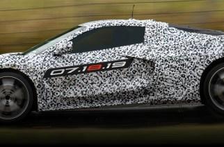 Adelantan el volante del Corvette C8