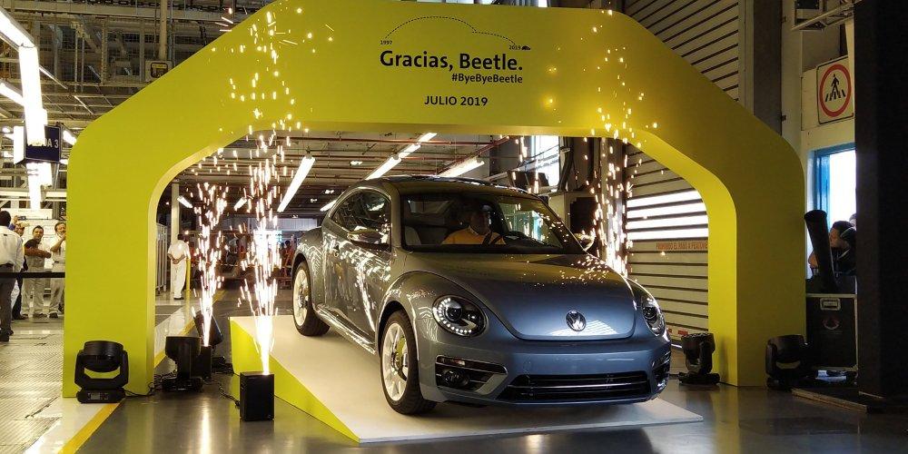 El adiós de una leyenda de Volkswagen: Beetle