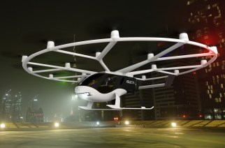 Conoce el primer taxi volador autónomo, eléctrico y comercial de Volocopter