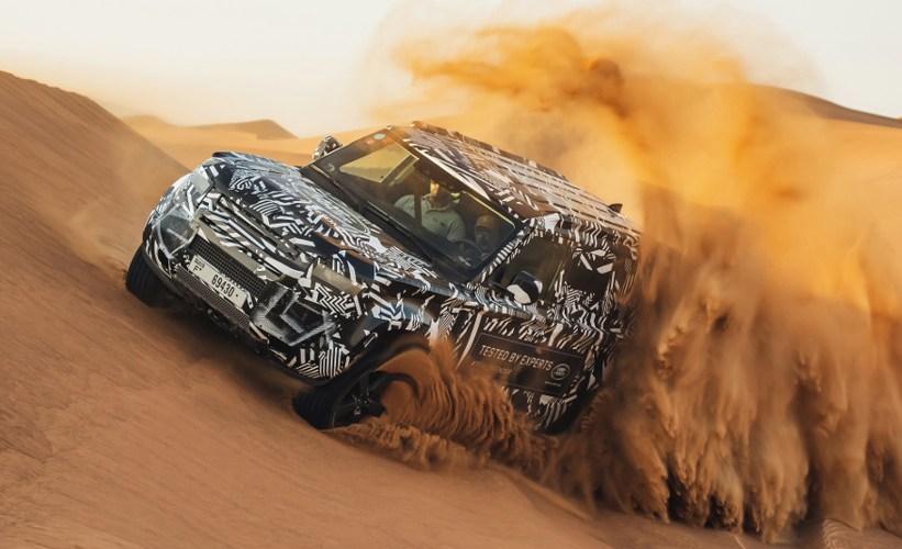 Land Rover Defender sometida a pruebas extremas