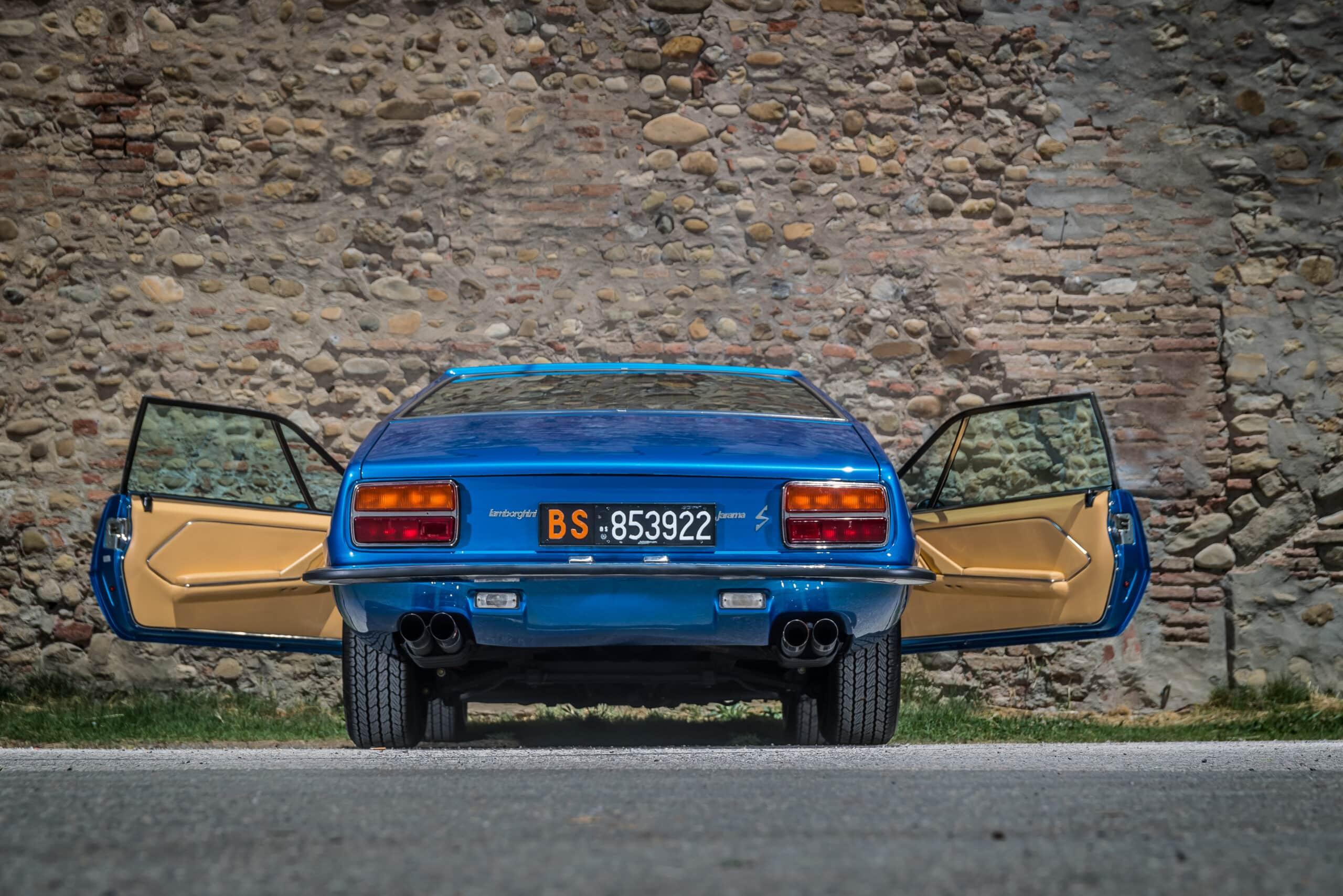 Lamborghini Jarama GT: el último Lambo con motor delantero V12