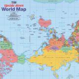 Upsidedown Map Of The World--Optimized