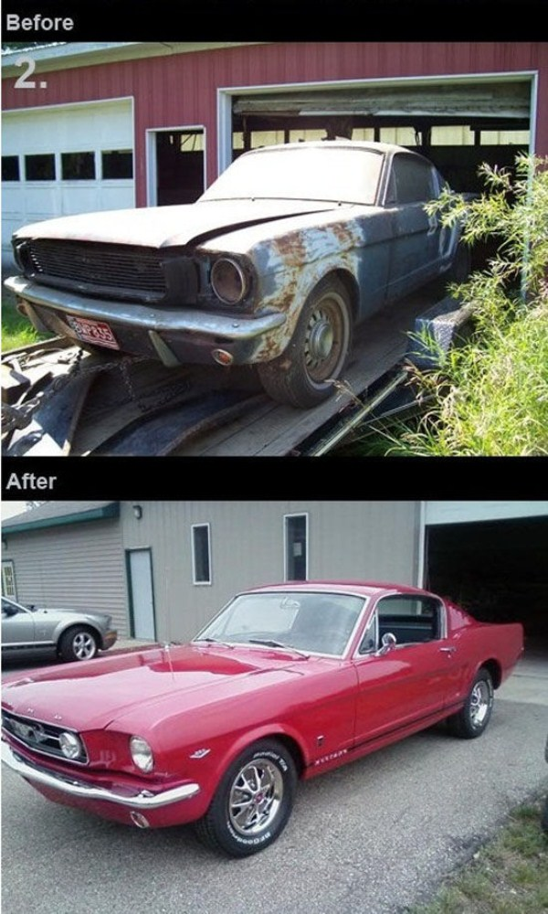 New life of old cars (11 pictures) | Memolition
