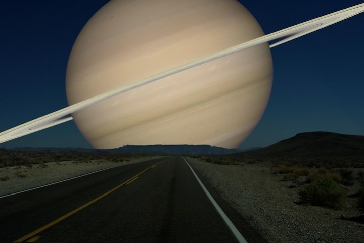 Saturn instead of the Moon