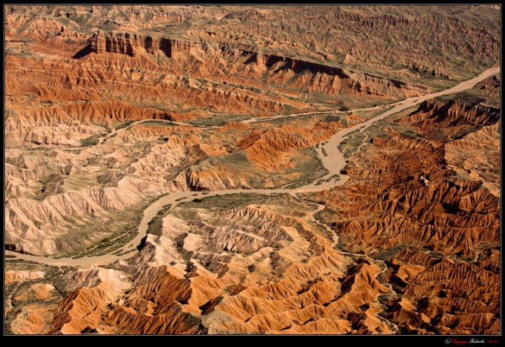 "Kazakhstan's ""Valley of Death"" - the canyons in the lower reaches of the river Charyn."