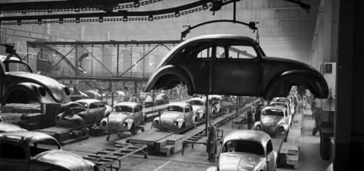 Scene+at+Volkswagens+Main+Plant+Wolfsburg+Germany+July+1951+1