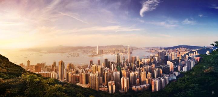 hongkong-sunsetfromhongkongpeak