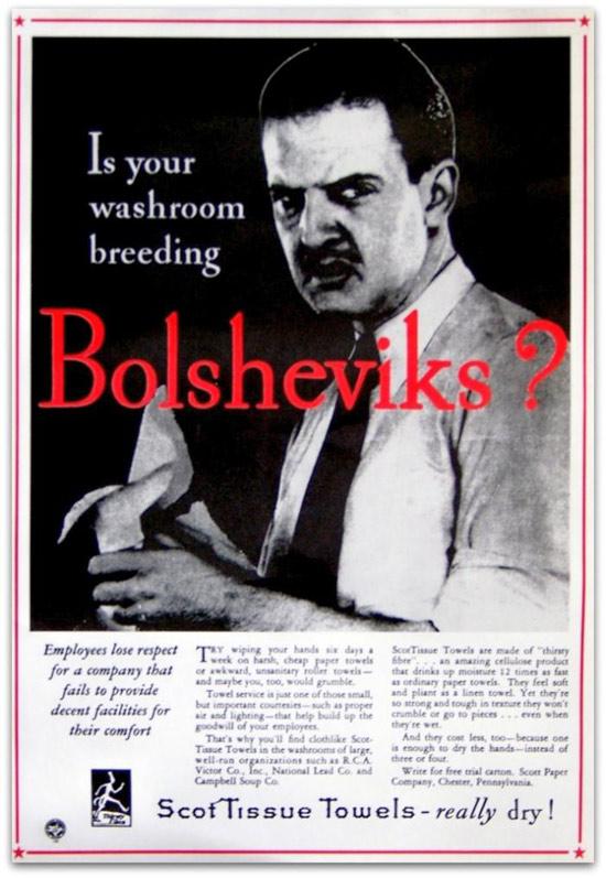 Vintage Anti Communist Ads And Propaganda Posters 15